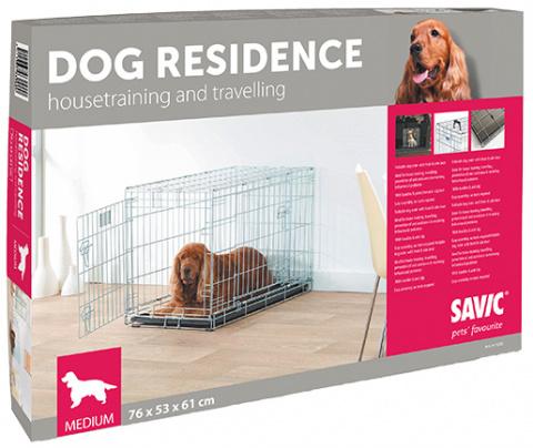 Klietka SAVIC Dog Residence 76 x 53 x 61 cm