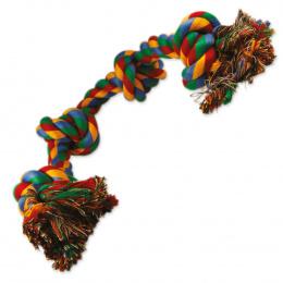 Uzol DOG FANTASY bavlnený farebný 4 knoty 60cm