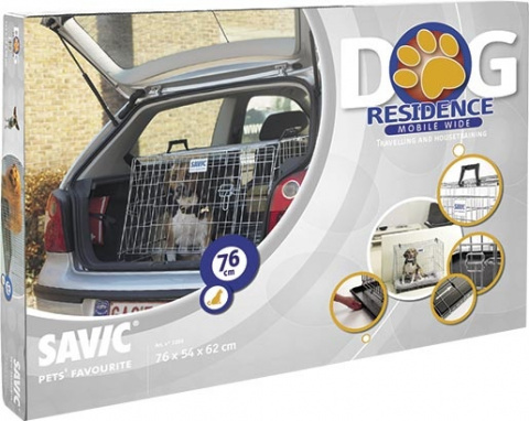Klietka SAVIC Dog Residence mobil 76 x 54 x 62 cm