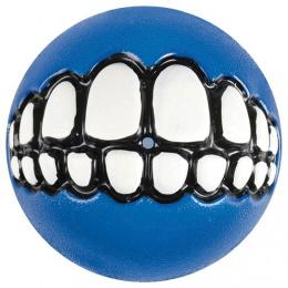 Hracka lopta Grinz modry 7,8cm