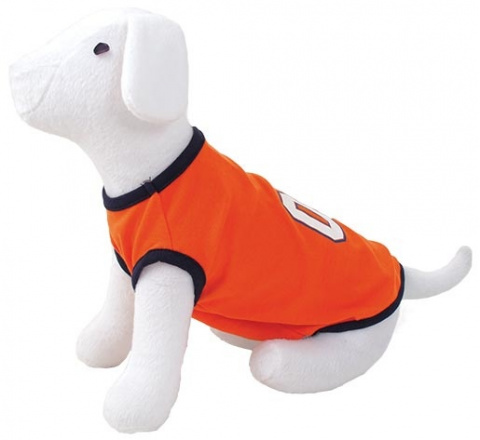 Tričko DOG FANTASY sport 01 oranžové S/M