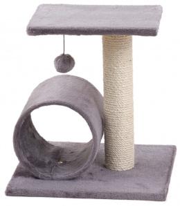 Magic Cat škrabadlo Helen 38x38x40cm šedé