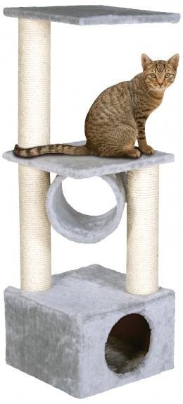 Magic Cat škrabadlo Tamara 35x35x103 cm šedé