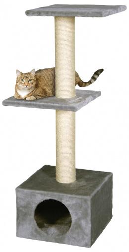 Magic Cat škrabadlo Alexia 34,5x34,5x104 cm šedé