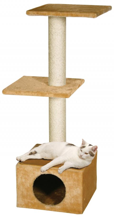 Magic Cat škrabadlo Alexia 34,5x34,5x104 cm béžové title=
