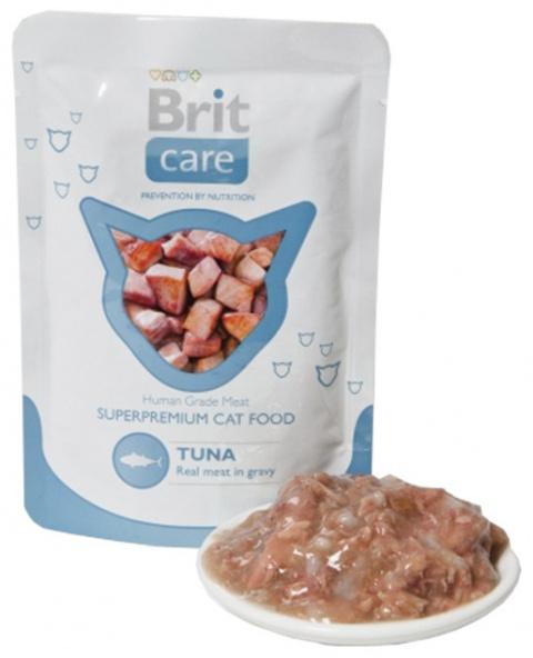 Brit Care Cat Tuna Pouch 80 g title=