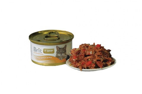 BRIT Care Tuna, Carrot & Pea 80g