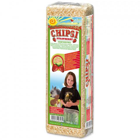 Hobliny Chipsi jahodove 15l-1kg title=