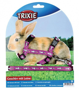 Nastavitelny postroj pre zajacov, s umelec. motivom