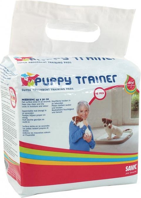 Náhradné podložky SAVIC Puppy trainer M 15ks