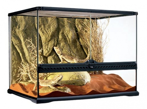 ExoTerra terarium sklen.60x45x45cm