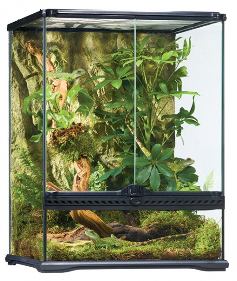ExoTerra terarium sklen.45x45x60cm