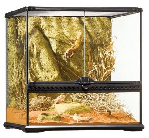ExoTerra terárium sklen.45x45x45 cm