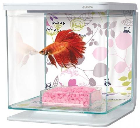 Akvarium Betta Marina Kit Floral 2l
