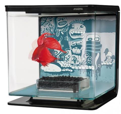Akvarium Betta Marina Kit Wild Things 2l