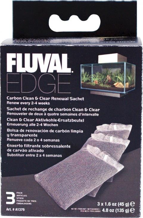 Napln uhlie Fluval Edge 3ks