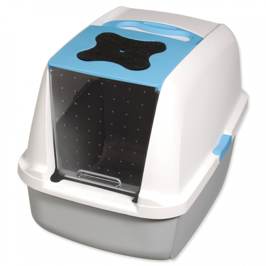 Cat It Design toaleta modrá
