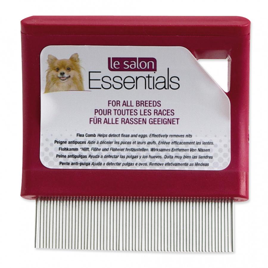 LE SALON Hrebeň Essentials na blchy jemný