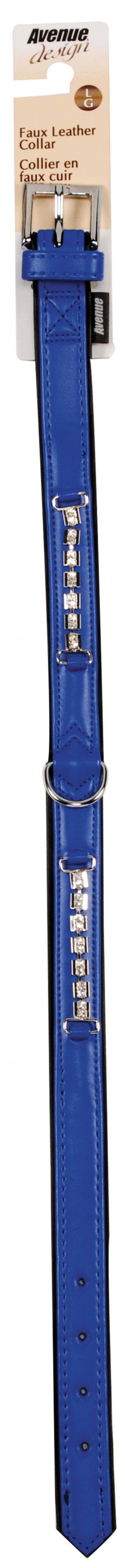 Obojok AVENUE Viva modrý L 50cm