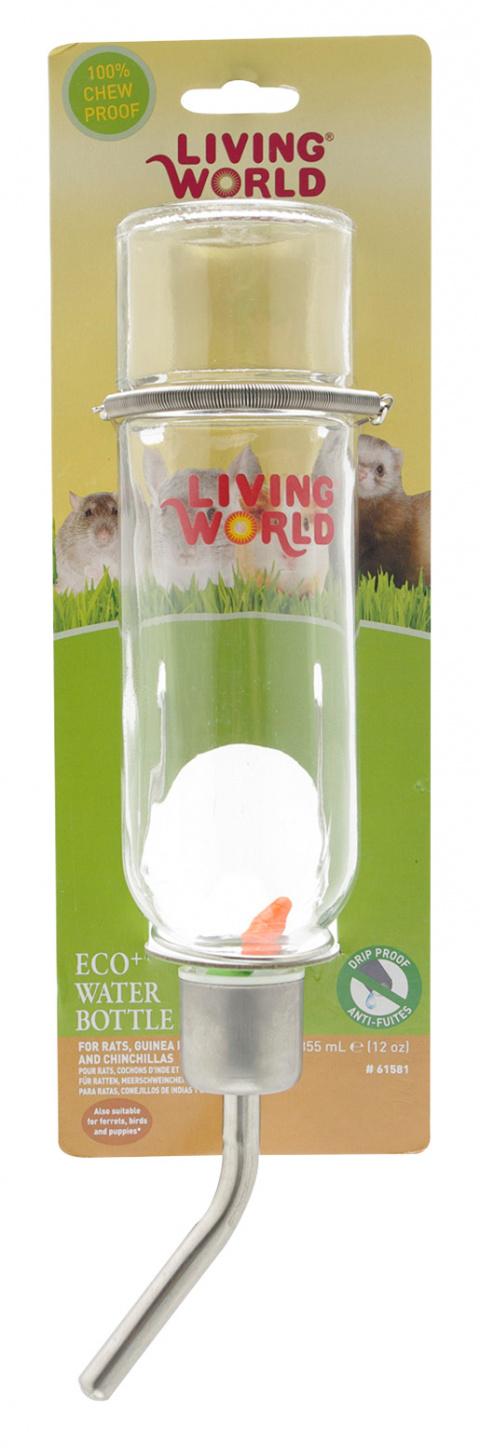 Napájačka LIVING WORLD Eco sklenená 355ml