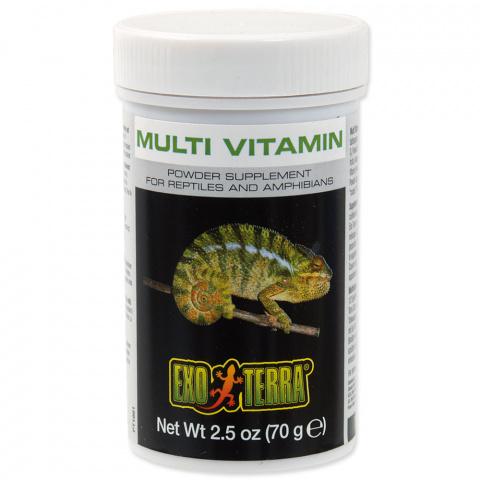 Exo-Terra Multi Vitamin dopln.krmivo 70g