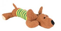 Hracka pes s lankom, hnedy, 28cm