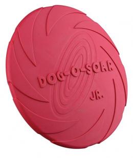 Hracka disk latex plavajuci 15cm