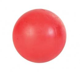 Hracka lopta, natural gumovy vyr. Jednofarebna 6.5cm