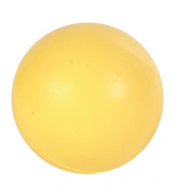 Hracka lopta, natural gumovy vyr., jednofarebna 7.5cm