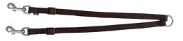 Voditko nast.dvoj. Premium , (XS-M), 40-70cm/ 15mm,cierne