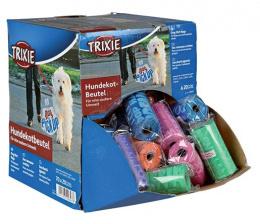 Sacky na psie vykaly, rozne farby, 1 rolka po 20 ks