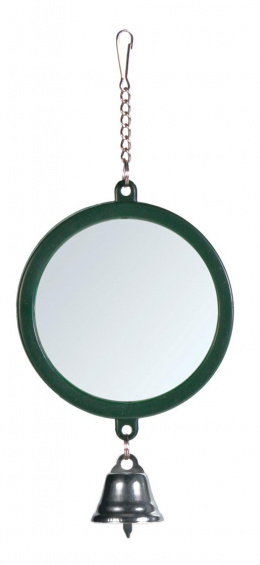 Hračka pre vtáky zrkadlo so zvončekom Trixie 7cm