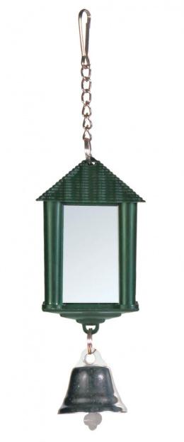 Zrkadlo - lucerna, so zvoncekom, 6 cm