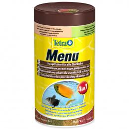 Tetra Menu 250ml  vlocky 4 druhy