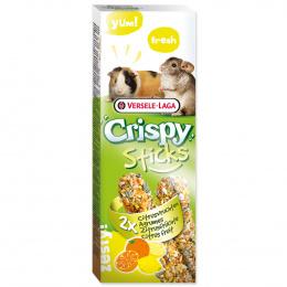 Tycinky Crispy s ovocim pre morcata a cincily 110g