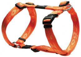 Postroj Alpinist oranzovy 2x45-75cm