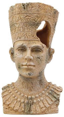 Dekoracia akv. Egyptska socha 9,5*9,5*16,1cm