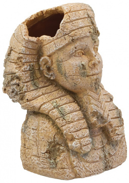 Dekoracia akv. Egyptska socha 10*9,4*13,8cm