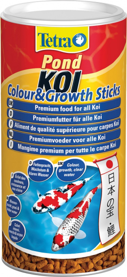 TETRA Pond Koi Sticks Growth & Color 1l