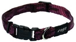 Obojok Alpinist fialovy 1,1x20-32cm