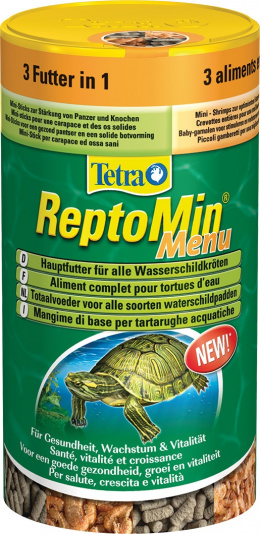 TetraFauna Reptomin Menu 250ml