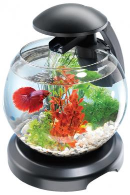 Tetra akvárium set Cascade LED 6,8 L čierne