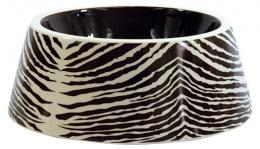 Miska DF keramicka zebra 23,5x9 cm