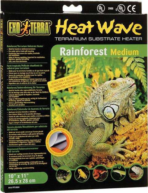 Podložka vykurovacia EXO TERRA Heat Wave Rainforest stredná 8W