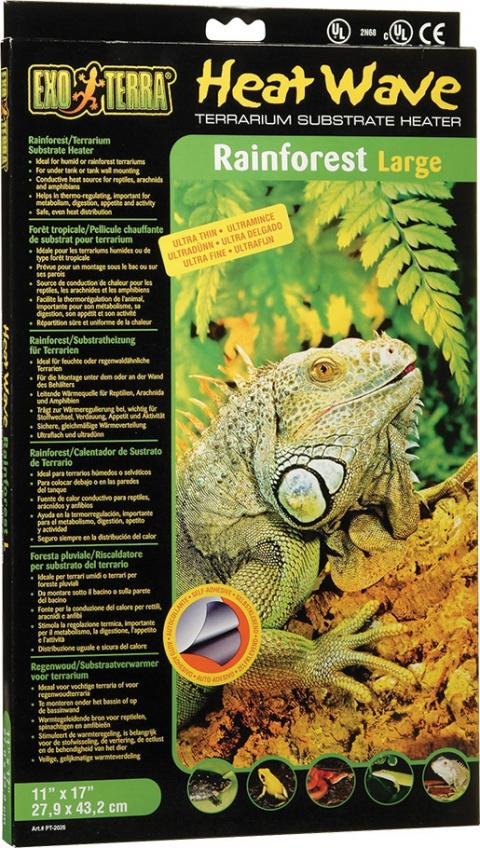 Podložka vykurovacia EXO TERRA Heat Wave Rainforest veľká 12W