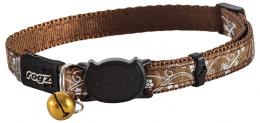 Obojok SilkyCat Bronz Filigree 1,1x20-31cm