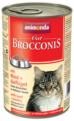 Brocconis cat - hovadzie a hydina 400 g
