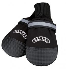 Topánky pre psy Trixie Walker Care Comfort čierne 2ks