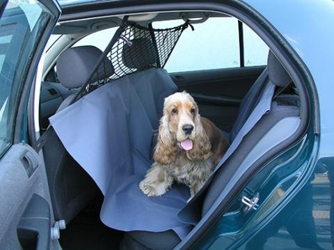 Ochranný prehoz zadných sedadiel MIKRA