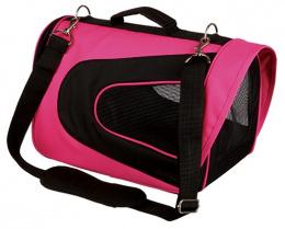 Taska prenosna Alina, 22x23x35 cm, ruzovo-cierna